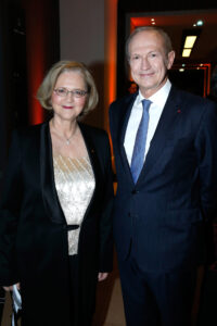 (Photo by Bertrand Rindoff Petroff/Getty Images for Fondation L'oreal) *** Local Caption *** Elizabeth H. Blackburn; Jean-Paul Agon